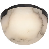 Visual Comfort KW4011BZ-ALB Kelly Wearstler Melange LED 5 inch Bronze Flush Mount Ceiling Light, Petite