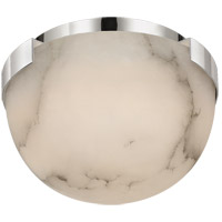 Visual Comfort KW4011PN-ALB Kelly Wearstler Melange LED 5 inch Polished Nickel Flush Mount Ceiling Light, Petite