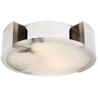 Visual Comfort KW4012PN Kelly Wearstler Melange LED 14 inch Polished Nickel Flush Mount Ceiling Light, Small