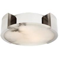 Visual Comfort KW4012PN Kelly Wearstler Melange LED 14 inch Polished Nickel Flush Mount Ceiling Light Small