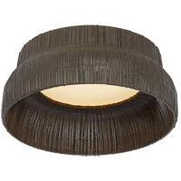 Kelly Wearstler Utopia LED 5 inch Aged Iron Flush Mount Ceiling Light, Petite