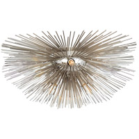Kelly Wearstler Strada 6 Light 19 inch Polished Nickel Flush Mount Ceiling Light, Small