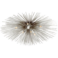 Visual Comfort KW4071BSL Kelly Wearstler Strada 10 Light 40 inch Burnished Silver Leaf Flush Mount Ceiling Light Large