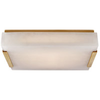 Visual Comfort KW4113AB-ALB Kelly Wearstler Covet LED 14 inch Antique-Burnished Brass Flush Mount Ceiling Light, Medium