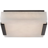 Visual Comfort KW4114BZ-ALB Kelly Wearstler Covet LED 8 inch Bronze Flush Mount Ceiling Light, Small