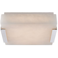 Visual Comfort KW4114PN-ALB Kelly Wearstler Covet LED 8 inch Polished Nickel Flush Mount Ceiling Light, Small