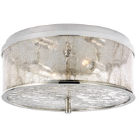 Visual Comfort KW4202PN-CRG Kelly Wearstler Liaison 2 Light 12 inch Polished Nickel Flush Mount Ceiling Light, Medium
