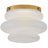 Visual Comfort KW4270AB-VG Kelly Wearstler Tableau LED 6 inch Antique-Burnished Brass Flush Mount Ceiling Light, Petite