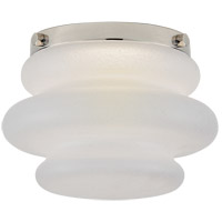 Visual Comfort KW4270PN-VG Kelly Wearstler Tableau LED 6 inch Polished Nickel Flush Mount Ceiling Light, Petite