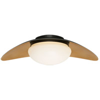Visual Comfort KW4280BZ/AB-WG Kelly Wearstler Nouvel LED 20 inch Bronze and Antique-Burnished Brass Flush Mount Ceiling Light in Bronze and Antique Burnished Brass, Medium