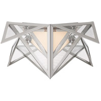 Visual Comfort KW4650PN-CLG Kelly Wearstler Ori LED 17 inch Polished Nickel Flush Mount Ceiling Light, Small