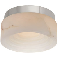 Visual Comfort KW4900PN-ALB Kelly Wearstler Otto LED 5 inch Polished Nickel Solitaire Flush Mount Ceiling Light