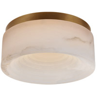Visual Comfort KW4901AB-ALB Kelly Wearstler Otto LED 8 inch Antique-Burnished Brass Flush Mount Ceiling Light Small