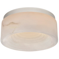 Visual Comfort KW4901PN-ALB Kelly Wearstler Otto LED 8 inch Polished Nickel Flush Mount Ceiling Light, Small