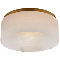 Visual Comfort KW4902AB-ALB Kelly Wearstler Otto LED 12 inch Antique-Burnished Brass Flush Mount Ceiling Light, Medium
