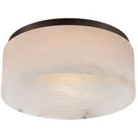 Visual Comfort KW4902BZ-ALB Kelly Wearstler Otto LED 12 inch Bronze Flush Mount Ceiling Light Medium