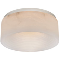 Visual Comfort KW4902PN-ALB Kelly Wearstler Otto LED 12 inch Polished Nickel Flush Mount Ceiling Light, Medium