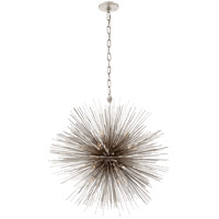 Kelly Wearstler Strada 20 Light 28 inch Burnished Silver Leaf Pendant Ceiling Light, Kelly Wearstler, Medium, Round