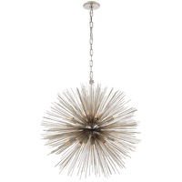 Visual Comfort Kelly Wearstler Strada 20 Light 28-inch Pendant in Polished Nickel, Medium, Round KW5071PN