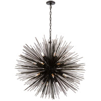 Visual Comfort KW5072AI Kelly Wearstler Strada 20 Light 40 inch Aged Iron Pendant Ceiling Light, Kelly Wearstler, Large, Round photo thumbnail