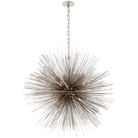 Kelly Wearstler Strada 20 Light 40 inch Burnished Silver Leaf Pendant Ceiling Light, Kelly Wearstler, Large, Round