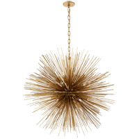 Visual Comfort KW5072G Kelly Wearstler Strada 20 Light 40 inch Gild Pendant Ceiling Light, Kelly Wearstler, Large, Round