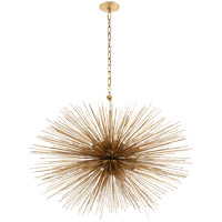 Visual Comfort KW5074G Kelly Wearstler Strada 20 Light 38 inch Gild Pendant Ceiling Light, Kelly Wearstler, Medium, Oval