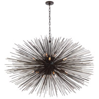 Kelly Wearstler Strada 20 Light 50 inch Aged Iron Pendant Ceiling Light, Kelly Wearstler, Large, Oval
