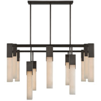 Visual Comfort KW5115BZ-ALB Kelly Wearstler Covet LED 31 inch Bronze Chandelier Ceiling Light, Large
