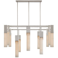 Visual Comfort KW5115PN-ALB Kelly Wearstler Covet LED 31 inch Polished Nickel Chandelier Ceiling Light, Large