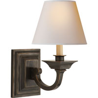 Visual Comfort Studio Edgartown 1 Light Decorative Wall Light in Bronze MS2012BZ-NP
