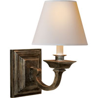 Visual Comfort Studio Edgartown 1 Light Decorative Wall Light in Sheffield Nickel MS2012SN-NP