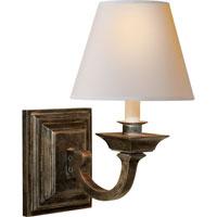 Visual Comfort MS2012SN-NP Michael S Smith Edgartown 1 Light 8 inch Sheffield Nickel Decorative Wall Light