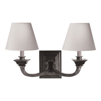 Visual Comfort Studio Edgartown 2 Light Decorative Wall Light in Polished Nickel MS2013PN-NP