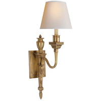 Visual Comfort MS2015HAB-NP Michael S Smith Winslow 1 Light 6 inch Hand-Rubbed Antique Brass Decorative Wall Light