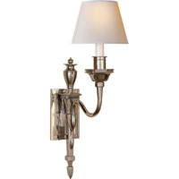 Visual Comfort Studio Winslow 1 Light Decorative Wall Light in Polished Nickel MS2015PN-NP
