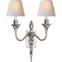 Visual Comfort Studio Winslow 2 Light Decorative Wall Light in Polished Nickel MS2016PN-NP