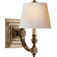 Visual Comfort MS2020SN-NP Michael S Smith Eiffel 1 Light 7 inch Sheffield Nickel Decorative Wall Light