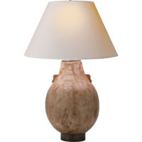 Visual Comfort Studio Shanxi 2 Light Decorative Table Lamp in Fire Pot Ceramic MS3006FP-NP