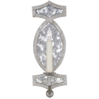 Visual Comfort NW2011VS-AM Niermann Weeks Brittany 1 Light 5 inch Venetian Silver with Antique Mirror Sconce Wall Light, Niermann Weeks