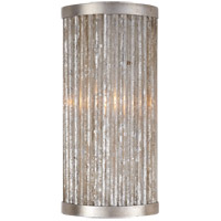 Niermann Weeks Sophie 1 Light 5 inch Burnished Silver Leaf Sconce Wall Light, Niermann Weeks, Bath