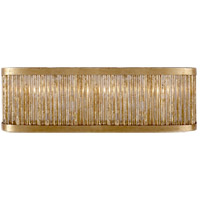 Niermann Weeks Sophie 3 Light 18 inch Gilded Iron Linear Bath Light Wall Light, Niermann Weeks, Large