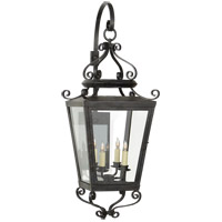 Niermann Weeks Lafayette 4 Light 39 inch French Rust Outdoor Wall Lantern