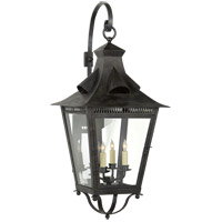 Niermann Weeks Orleans 4 Light 39 inch French Rust Outdoor Wall Lantern