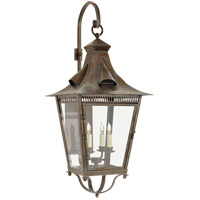 Niermann Weeks Orleans 4 Light 39 inch Weathered Verdigris Outdoor Wall Lantern, Large Bracketed