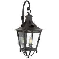 Visual Comfort NW2710FR-CG Niermann Weeks Orleans 3 Light 31 inch French Rust Outdoor Wall Lantern, Medium Bracketed