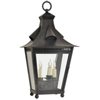 Niermann Weeks Orleans 2 Light 23 inch French Rust Outdoor Wall Lantern, Medium