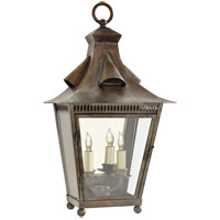 Niermann Weeks Orleans 2 Light 23 inch Weathered Verdigris Outdoor Wall Lantern, Medium