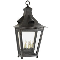 Visual Comfort NW2713FR-CG Niermann Weeks Orleans 3 Light 30 inch French Rust Outdoor Wall Sconce, Large