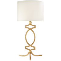 Visual Comfort NW3011VG-S Niermann Weeks Brittany 27 inch 100 watt Venetian Gold Table Lamp Portable Light, Niermann Weeks, Silk Shade